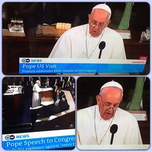 Pope scolds US Congress & they loved it. (with images, tweets) · BrentGoffTV
