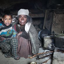 In Pictures: Food crisis hits Nepal district