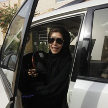 Women take the wheel across the Middle East, and not everyone is pleased