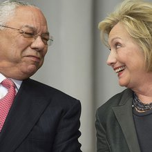 Emails show Colin Powell unloading on Clinton, Rumsfeld and Trump