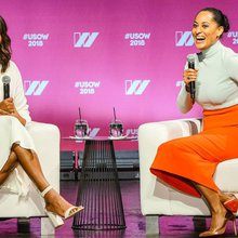 Michelle Obama talks hope, gender equality and running for president at United State of Women Sum...