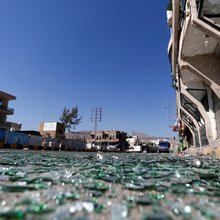 Yemen's capital is under lockdown - hear a first-person account