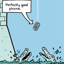 The Story of Why Humans Are So Careless With Their Phones