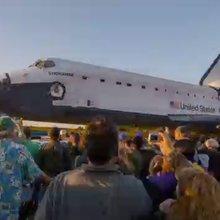 Shuttle Endeavour's Final Ride