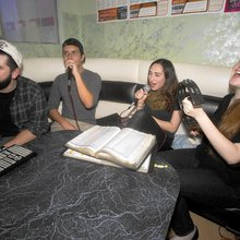 Noraebangs, or private karaoke singing rooms, are on the rise in Orange County
