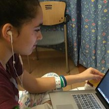 Robotic Telepresence Device Allows Student to Attend School Virtually While Receiving Treatment