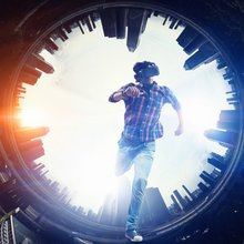 Inside the dystopian vision of the IAB's new AR and VR advertising formats - Digital Content Next