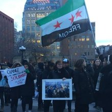 Aleppo solidarity movement comes to New York City
