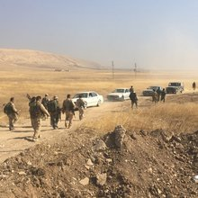 Marching towards Mosul with the Peshmerga