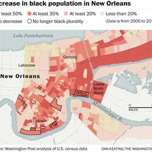 New Orleans, ten years later