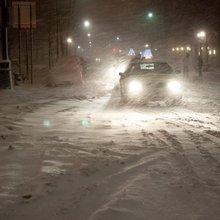 """Eissturm in den USA: Autofahrer retten sich vor """"Nemo"""" in Supermarkt"""