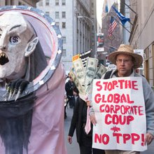 The Trans-Pacific Partnership treaty is the complete opposite of 'free trade'