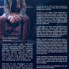 SMASH Magazine : Issue 84 Featured - Grieves