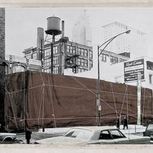 A daring plan to wrap a Chicago museum raises city ire - and makes art history