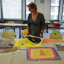 Warrior artists explore art therapy for veterans
