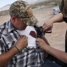 Militias 'mobilizing' to support embattled Clark County rancher in clash with federal rangers