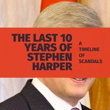 The last 10 years under Stephen Harper: A timeline of scandals