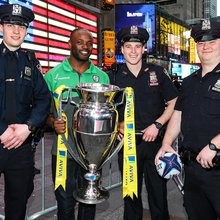 London Irish face Sarries in NY as Premiership takes bite of Big Apple