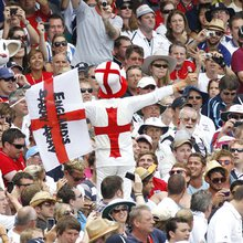 'Barmy Army' take battle honours