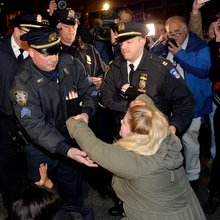 New York City Police Arrest At Least 83 People During Eric Garner Protests