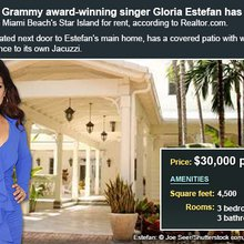 Celebrity House For Rent: Gloria Estefan | Bankrate.com