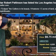Celebrity House For Sale: Robert Pattinson | Bankrate.com