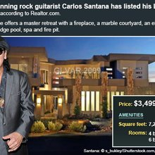 Celebrity House For Sale: Carlos Santana | Bankrate.com