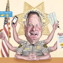 Denton's Scandal-Prone Sheriff