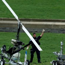 Gyrocopter pilot frustrated message isn't getting through