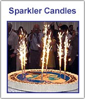 BirthdaySparklers.com | Birthday Candle Sparklers | Sparklers for Birthdays