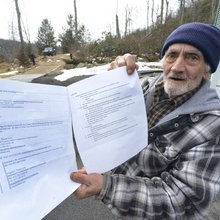 Brimfield family says local conservation officials unfairly scrutinizing post-tornado cleanup act...