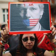 Julian Assange Besieged: The Scene at Ecuador's London Embassy