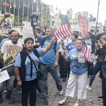 Protesters Rally in Support of Immigrants During UN General Assembly