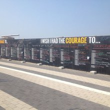 Courage Wall At Wiehle-Reston East Metro Station