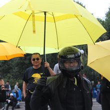 One year later: Does New York still recognize the yellow umbrella?