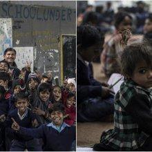 Han ägnar livet åt att undervisa utsatta barn - helt gratis
