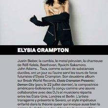 Portrait d'Elysia Crampton