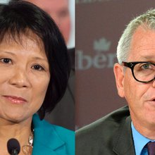 Olivia Chow and Adam Vaughan in tight Spadina-Fort York race