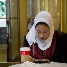 As Muslim women, we actually ask you not to wear the hijab in the name of interfaith solidarity
