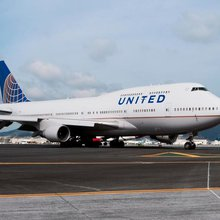 A raucous retirement party for United's 747-400 'Queen of the Skies'