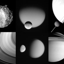 Meanwhile, Near Saturn...