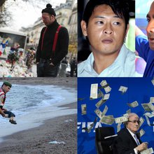 The biggest international stories of 2015