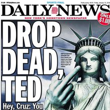 New Yorkers furious at Ted Cruz's 'NY values' jibe