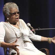 Worthy of praise, Dr. Maya Angelou heaps thanks on others