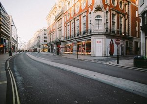 London is a ghost town of eerily empty streets in these amazing photos