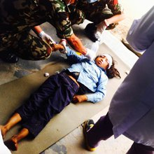 'Unimaginable': Doctors overwhelmed at Nepalese trauma center
