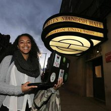 'Crowdfunding' pays off for BU student - The Boston Globe