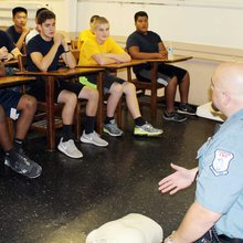 Stamford's Sea Cadets program teaches military, life skills