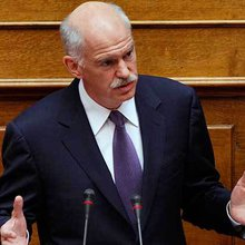 Papandreou's Three Myths About the Greek Financial Crisis