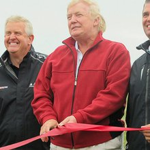 Trump opens controversial $150M golf course in Scotland